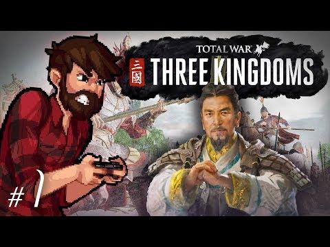 Total War: Three Kingdoms | Liu Bei | Let's Play Total War: Three Kingdoms Gameplay Episode 1
