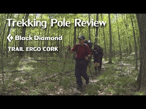 Trekking Pole Review – Black Diamond Ergo Cork Trail