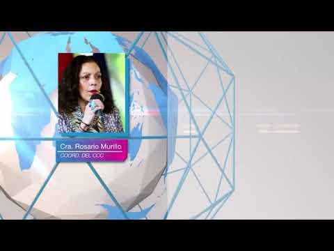 Compañera Rosario Murillo: Reconciliación y Paz, clave para estabilidad y trabajo