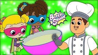 Pat A Cake | Bottle Squad | Kids Shows For Children