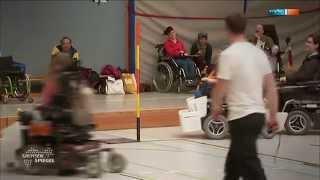 preview picture of video 'Fußball für E-Rollis - MDR Sachsenspiegel, 23.03.2014 19:00 Uhr'