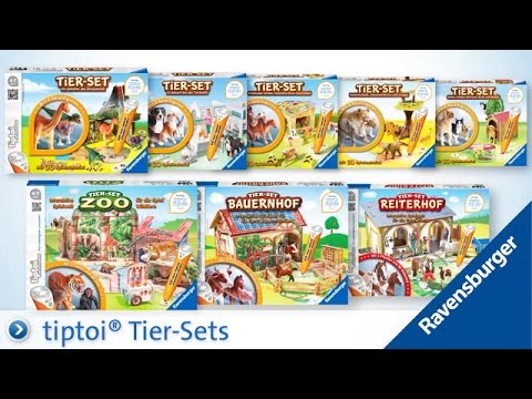 tiptoi® Spielfiguren Tier-Sets