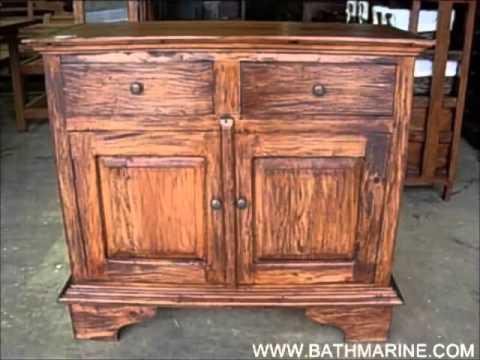 Bathmarine com muebles rusticos y coloniales auxiliares for Muebles rusticos economicos