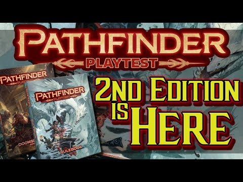 Pathfinder 2nd Edition and Pathfinder Playtest NEW GAME