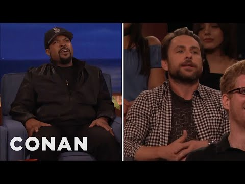 Ice Cube Vs. Charlie Day  - CONAN on TBS (видео)
