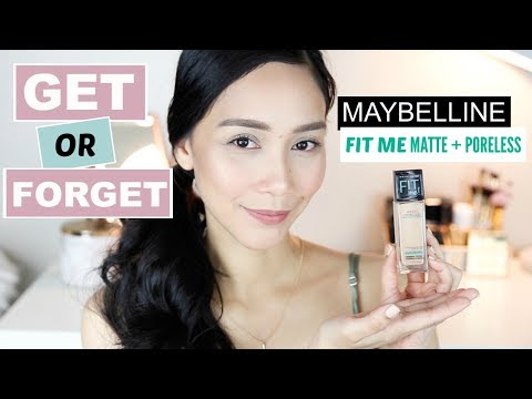 Fit Me Matte + Poreless Foundation by Maybelline #2