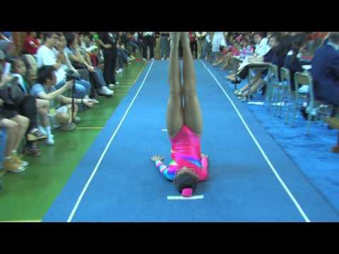 全港小學體操邀請賽 女子自由體操 49