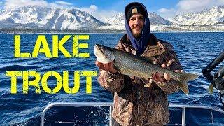 Fishing Lake Tahoe!