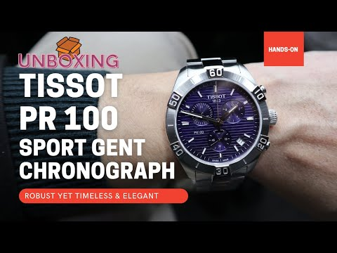 Tissot PR 100 Sport Gent Chronograph T1016171104100