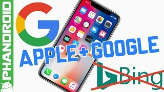 Apple ditches Bing for Google Search