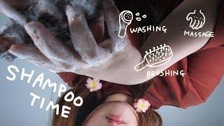 Realistic Shampoo Time💦 ASMR 샴푸타임