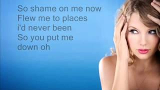 Taylor Swift - I knew you were trouble [Lyrics on