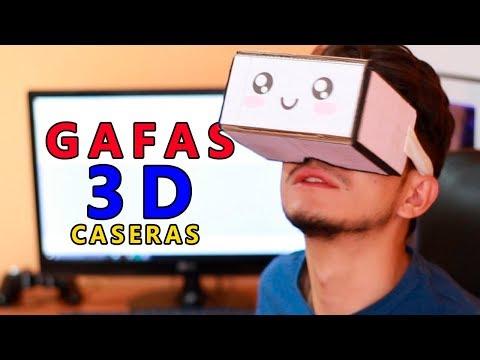 Fabrica tus Propias Gafas de Realidad Virtual - 3D - Nuevo Diseño