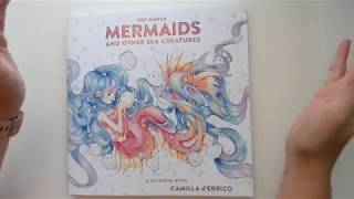 [GIVEAWAY + FLIP THROUGH]  Pop Manga Mermaids by Camilla d