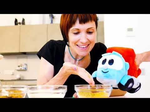 Еда для Карла и Бьянки - Маша Капуки и Свинка Пеппа готовят кашу. Мамина школа