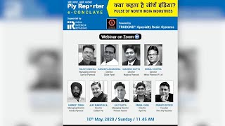 "IIR-Ply Reporter E-Conclave On - Pulse Of North India Industries"" Powered By TRUBOND®"