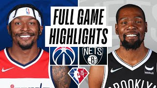 WIZARDS at NETS | FULL GAME HIGHLIGHTS | October 25, 2021