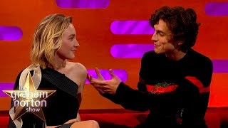 How Timothée Chalamet Handles Working With Huge Names | The Graham Norton Show
