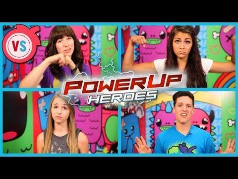 POWERUP HEROES! (VERSUS JENNXPENN, ANDREA RUSSETT, & DAYVIIDEO)
