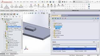 Define Custom Magnet inside EMS for SOLIDWORKS