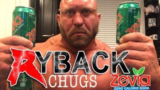 Ryback Chugs 4 Cans Of Zevia Soda's - Chugging Drink Challenge
