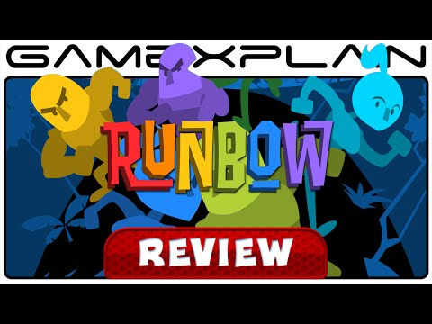Runbow - Video Review (Wii U) - YouTube video thumbnail