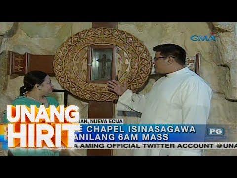 [GMA] Unang Hirit: Holy Week Destination: Sanctuary of the Holy Face of Jesus sa Nampicuan, Nueva Ecija