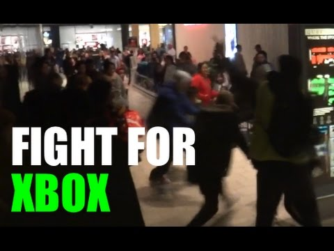 Free Xbox One Giveaway On Black Friday (FIGHT BREAKS OUT) Mall Chaos 2016