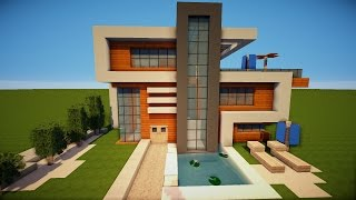 Einfache Moderne Villa Minecraft Tutorial Part German Most - Minecraft haus bauen pocket edition