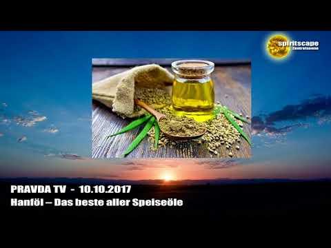 Hanföl – Das beste aller Speiseöle - Pravda TV - 10.10.17