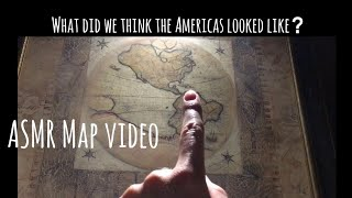 ASMR Map Video: Shocking Ancient Map Of The Americas 🌎