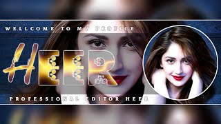 How To Make New Style Facebook Cover || By Baba Editx