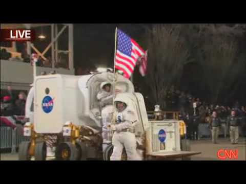 NASA Electric Lunar Rover Looks Silly In Obama's Inaugural Parade