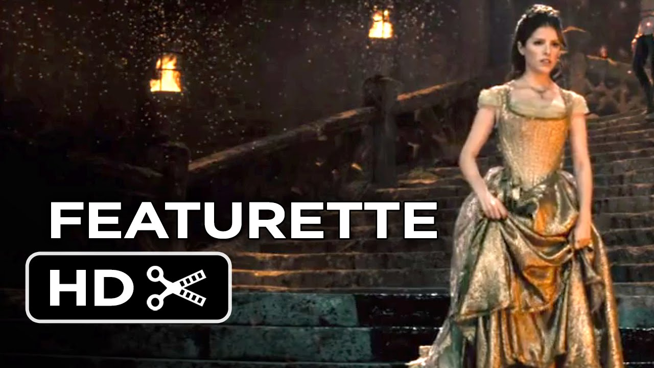 Into the Woods Featurette – Steps of the Palace (2014) – Anna Kendrick, Chris Pine Musical HD