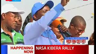 IEBC staff Wamae and Mugo's names resurface during NASA's rally in Kibra