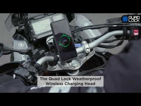 Quad Lock Testa di ricarica wireless resistente alle intemperie Quad Lock