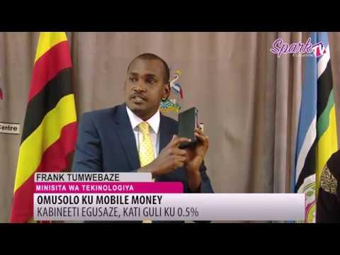 Kabineeti ekendeezezza omusolo ku mobile money
