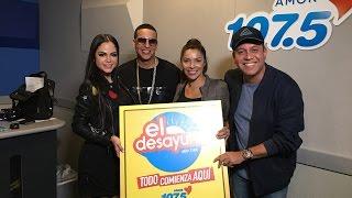 Daddy Yankee y Natti Natasha presentan 'Otra Cosa' en El Desayuno