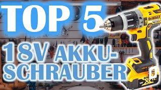TOP 5 AKKU SCHLAGBOHRSCHRAUBER | Der beste Akkuschrauber 2021?