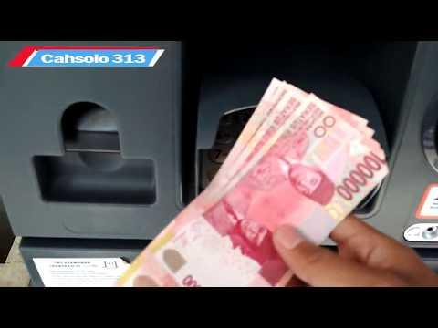 cara mengambil uang di mesin ATM (Tarik Tunai )