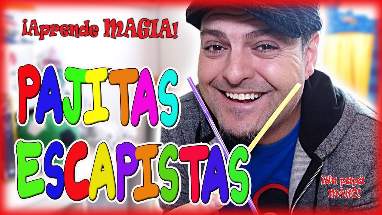 TRUCO DE MAGIA | PAJITAS ESCAPISTAS | APRENDE MAGIA | is Family Friendly