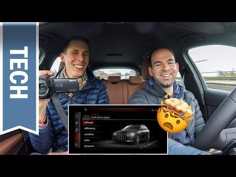 MMI touch & Sprachsteuerung im Audi A4 treiben uns zur Weißglut - Test & Review