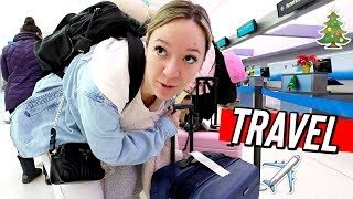 traveling during the holidays really sucks!! vlogmas day 16