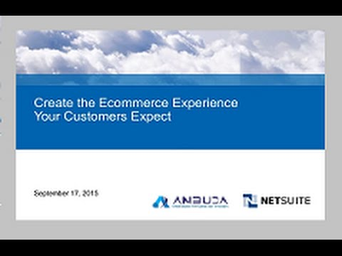Creating the Ecommerce Experience Your Customers Expect