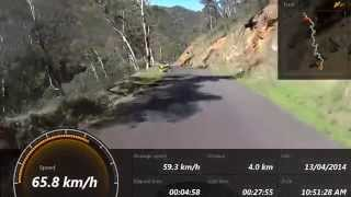 preview picture of video 'Crosstourer Tumut to Jindabyne 2014'