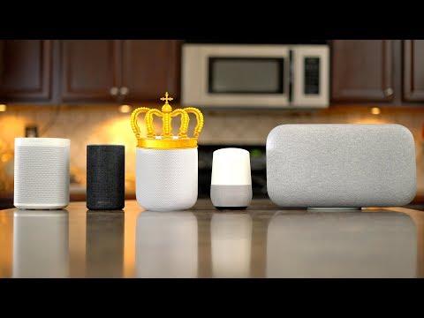 Ultimate Smart Speaker Sound Comparison - HomePod   Sonos One   Google Home/Max   Echo v2