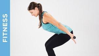 Fitness Fatburner Workout mit Hanteln - Ganzkörpertraining für Mittelstufe - Fit mit Anna - HD