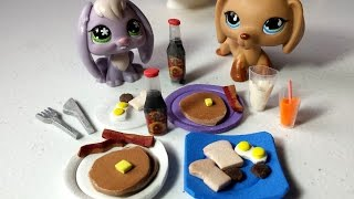 Download video how to make easy lps cereal how to make lps food breakfast pancakes syrup bottle more doll ccuart Choice Image