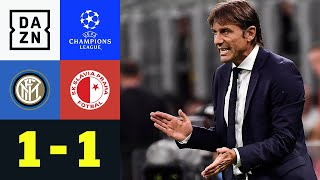 Last Minute Ausgleich Rettet Conte & Co: Inter   Slavia Prag 1:1   UEFA Champions League   DAZN