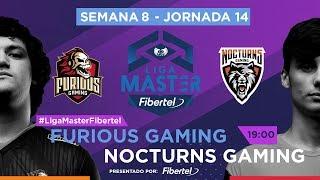 Furious Gaming VS Nocturns Gaming | Jornada 14 | Liga Master Fibertel 2019